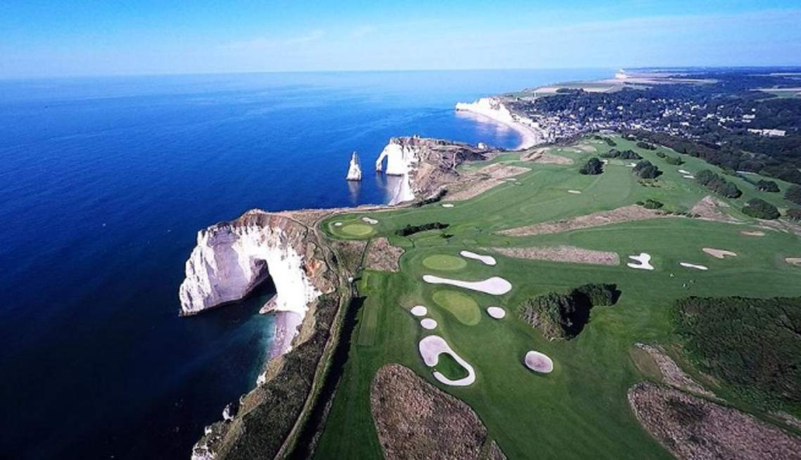 The Golf D'Etretat