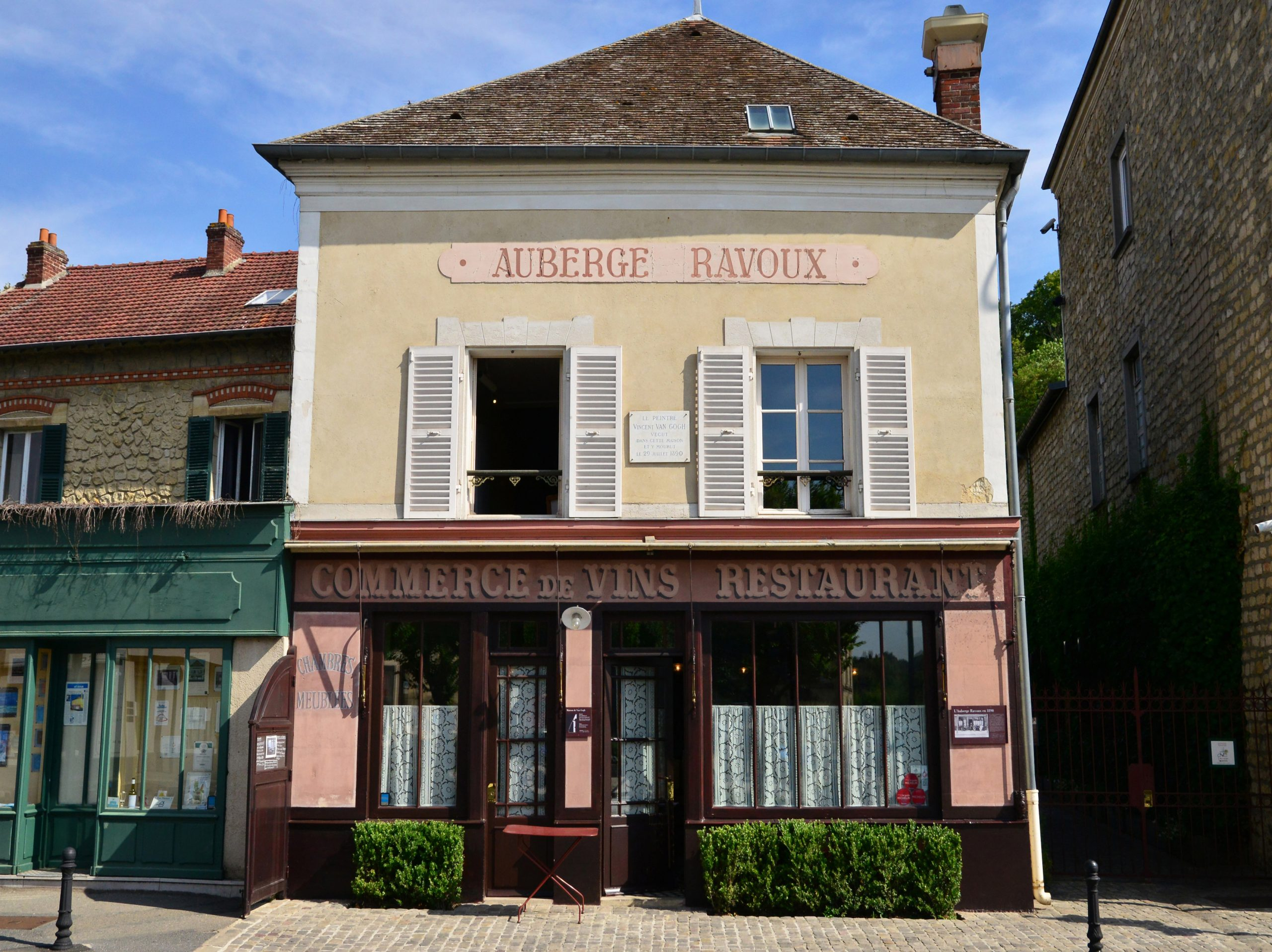 Restaurant and Museum: Ravoux Inn